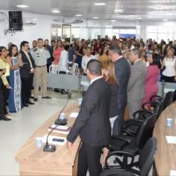 Fabrício Figueredo participou das comemorações dos 59 anos de Gandu
