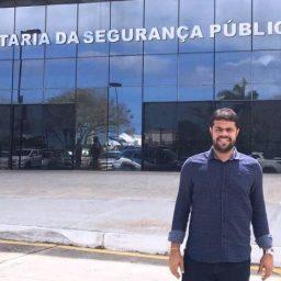Gandu: Prefeito Leonardo Cardoso solicita audiência com Secretário da Segurança Pública