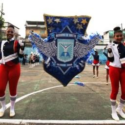 Fanfarras de escolas estaduais ensaiam para desfile do 7 de Setembro