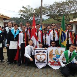 Maçonaria Ganduense participa do Desfile do 7 de Setembro