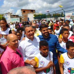 Melhores momentos do Governador da Bahia durante visita em Gandu