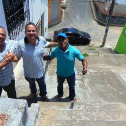 Gandu: Prefeitura inicia melhorias na escadaria da Travessa Ana Neri