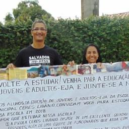 Gandu: Colégio Ceres Libânio incentiva jovens e adultos a voltarem a estudar