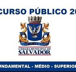 Câmara de Salvador abre vagas com salários que chegam a R$ 5.751,35