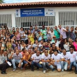 Prefeito de Gandu entrega unidade de saúde para comunidade de Tararanga.