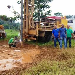 Gandu: Prefeitura inicia perfuração de poços artesianos na zona rural do município