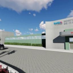 Rui entrega obras e equipamentos do Hospital Geral de Itaparica