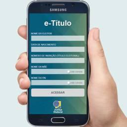 Eleitores poderão votar usando apenas o celular em 2018