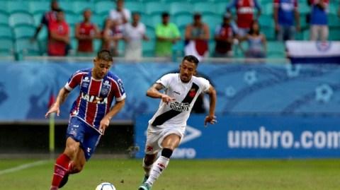 Filme repetido! Vasco perde de novo para o Bahia por 3 a 0 na Fonte Nova