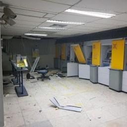 Bandidos explodem Agência do Banco do Brasil em Simões Filho