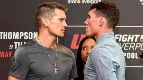 Com 'prata da casa' em destaque, UFC estreia em Liverpool neste domingo