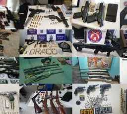 Em 2018 polícia baiana apreende 22 armas por dia