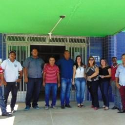 Equipe técnica da SESAB visita o Centro de Saúde de Piraí do Norte