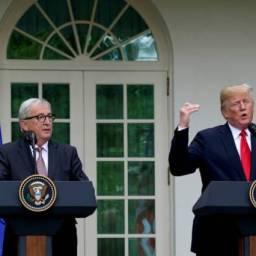 Estados Unidos e Europa fecham acordo para evitar guerra comercial