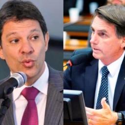 Ibope: Bolsonaro cai para 57% e Haddad sobe para 43%