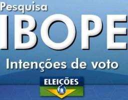 Ibope para presidente, votos válidos: Bolsonaro, 54%; Haddad, 46%
