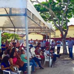 Gandu: Prefeito Léo entrega sede reformada e fardamento para os agentes comunitários de saúde e de endemias.