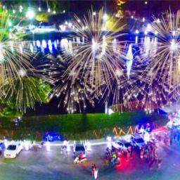 Prefeitura prepara show pirotécnico para virada do ano em Gandu
