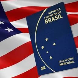 Brasil pode isentar americanos de visto e mudar passaporte