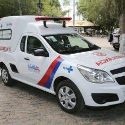 Governo contempla Wenceslau Guimarães com nova ambulância para o MST