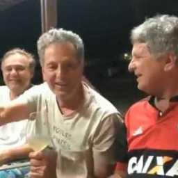 Landim diz que Flamengo vai ganhar tudo em 2019: 'Chega de cheirinho'