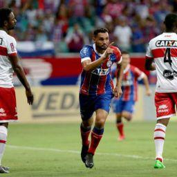 Na estreia da Copa do Nordeste, Bahia fica no 1 a 1 com o CRB