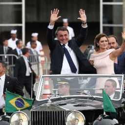 Posse de Bolsonaro é destaque na mídia internacional