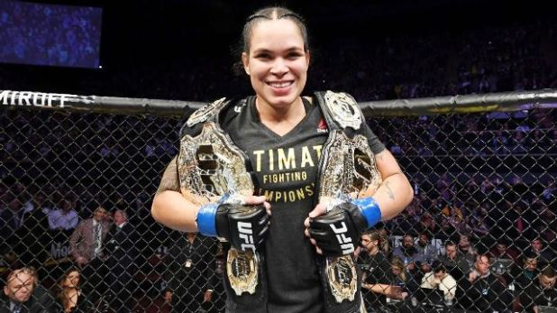 """Amanda-Nunes-n%C3%A3o-se-decidiu-sobre-aposentadoria-e-ainda-sonha-com-terceiro-cintur%C3%A3o Amanda Nunes descarta lutar em maio no UFC: """"Vamos deixar este coronavírus passar um pouco"""""""