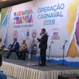 Carnaval: 'Bahia é a bola da vez', diz Rui Costa sobre turismo
