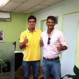 UNA: Prefeito Tiago de Dejair recepciona faixa preta de Jiu-Jitsu