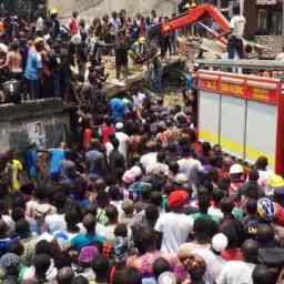 Escola desaba e deixa pelo menos 100 crianças soterradas na Nigéria