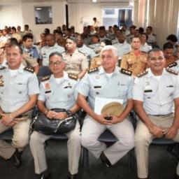 Oficiais participam da abertura do Cegesp e Cesp