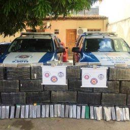 PM apreende meia tonelada de maconha na Bahia; droga é avaliada em R$ 5 milhões