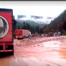 Temporais no Peru provocam mortes, feridos e deslizamentos de terra