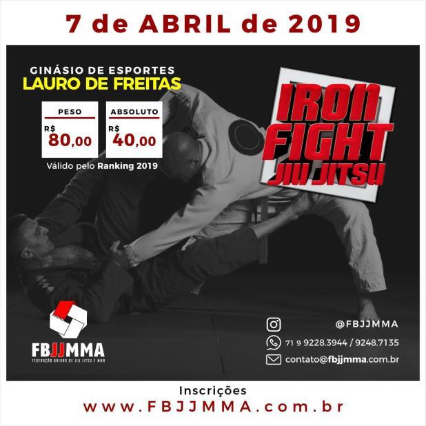 Lauro-de-Freitas-sedia-o-IRON-FIGHT-de-Jiu-Jitsu Lauro de Freitas sedia o IRON FIGHT de Jiu-Jitsu