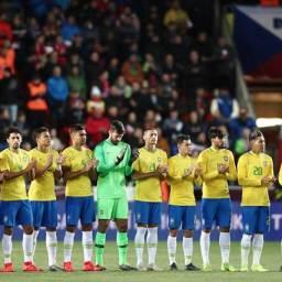 Seleção brasileira garante 96% das receitas da CBF
