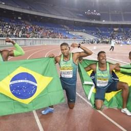 Brasil é campeão mundial do revezamento 4×100 no Japão