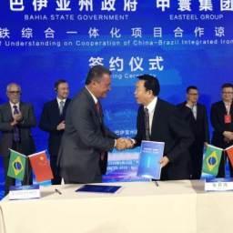 Na China, Rui assina acordo que prevê investimento de U$ 7 bilhões na Bahia