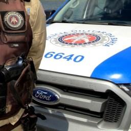Homem disfarçado de policial é preso com veículo roubado
