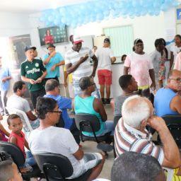 Mais de 100 consultas e exames são realizados na abertura do Novembro Azul