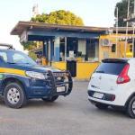 PRF recupera veículo roubado da prefeitura da Prefeitura de Gandu