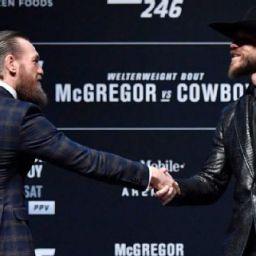 Cerrone exalta versão respeitosa de McGregor às vésperas do UFC 246: 'Bom vê-lo assim'