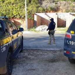 PRF prende em Teolândia foragido acusado de homicídio praticado em Águas Lindas de Goiás