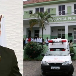 Vereador Fábio de Raquel recebe alta do hospital e passa bem