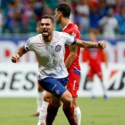 Bahia goleia Nacional por 3 a 0 na Copa Sul-Americana