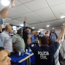 Polícias Penal e Civil decidem suspender atividades na sexta-feira (7)