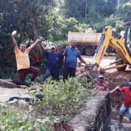 Prefeitura restaura terceira ponte na zona rural de Piraí do Norte
