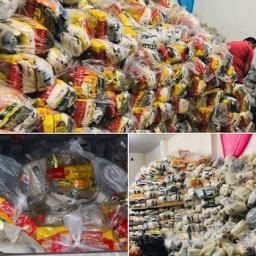 Prefeitura de Jitaúna distribui cestas básicas para famílias vulneráveis no município