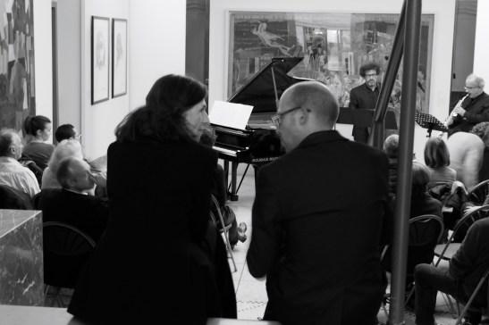 Françoise Choveaux et Amaury Breyne. Crédit photo : Anne-Sandrine Di Girolamo
