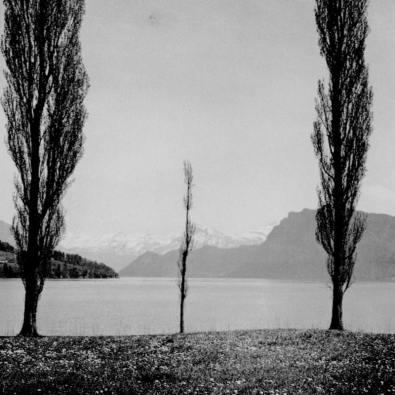 Lac des Quatre Cantons à Triebschen. Source : Gallica, Bibliothèque Nationale de France
